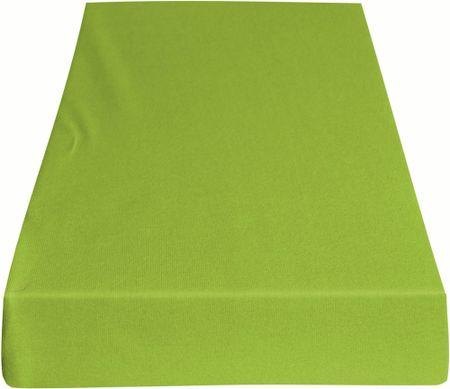 Greno rjuha Jersey, 220 x 200 cm, svetlo zelena