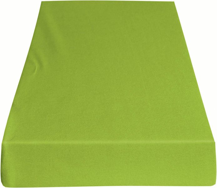 Greno Jersey prostěradlo 140 x 200 cm světle zelená