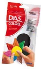 DAS barvna modelirna masa, črna 150g 387405