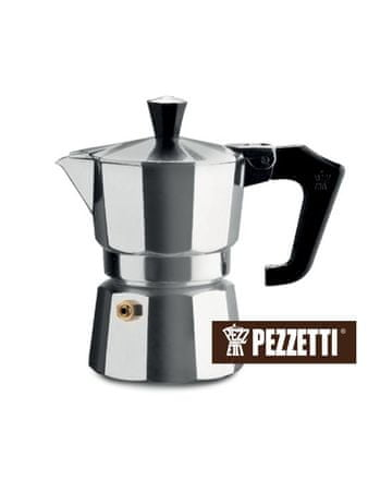 Pezzetti Italexpress kafetiera, 3 skodelice, 150 ml