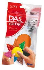 DAS barvna modelirna masa, oranžna 150g 387410