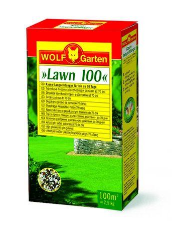 Wolf - Garten trifazno gnojilo za travo z začetnim in dolgotrajnim učinkom LN-MU250/CEE