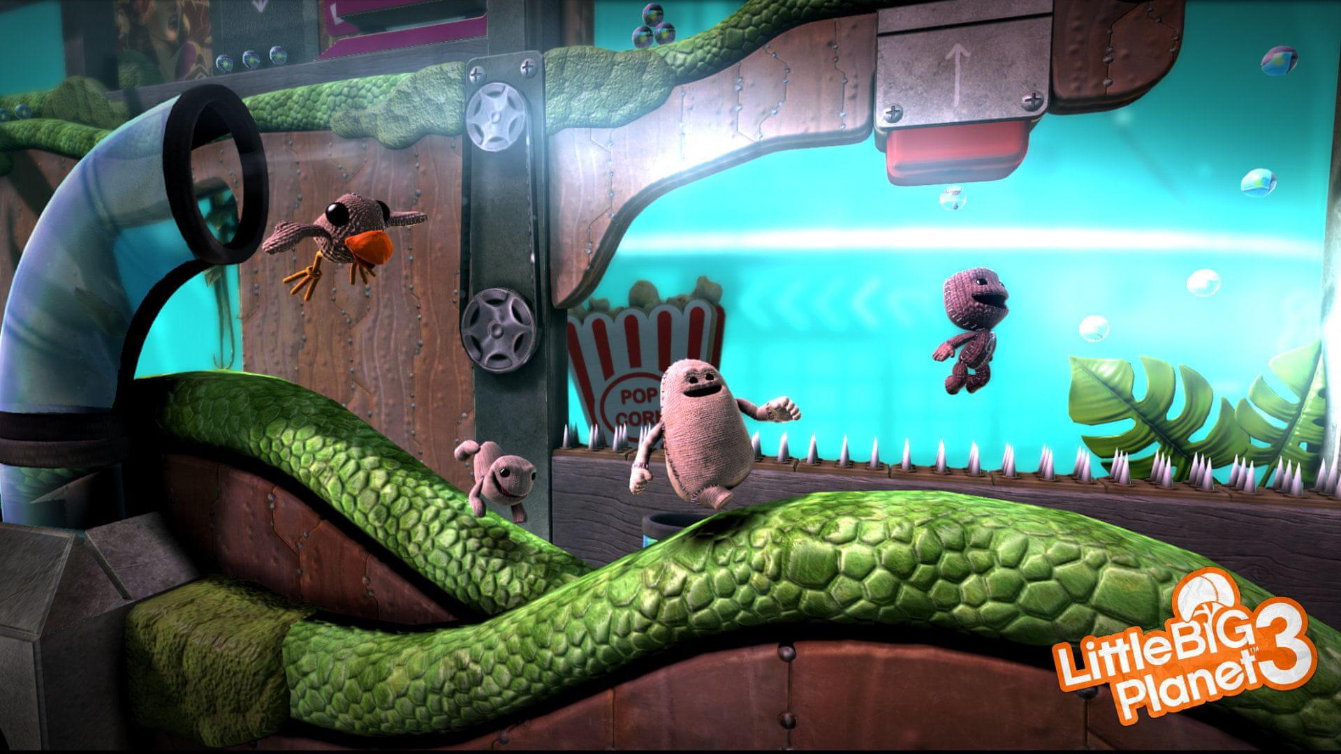 Výsledek obrázku pro LittleBigPlanet 3