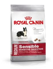 Royal Canin Medium Sensible Kutyaeledel, 15 kg