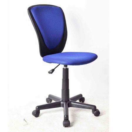 Pisarniški stol modra