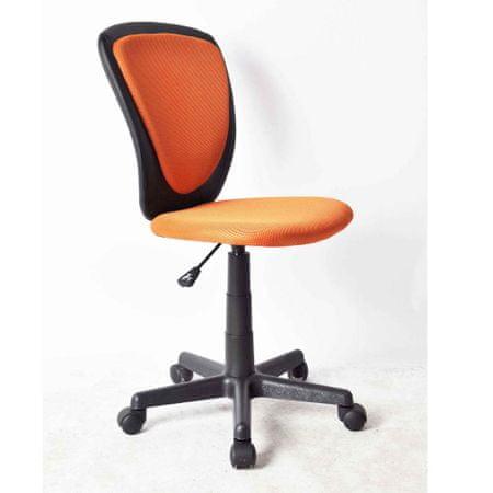 Pisarniški stol oranžna