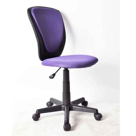 Pisarniški stol vijolična