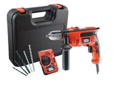 Black+Decker udarni vrtalnik CD714CRESKD