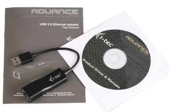 I-TEC USB 2.0 Fast Ethernet Adapter 100/10Mbps