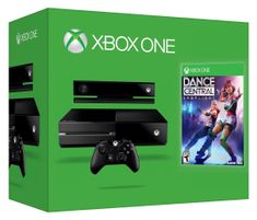 Microsoft XBOX One 500GB so senzorom Kinect + Dance Central Spotlight (7UV-00114)