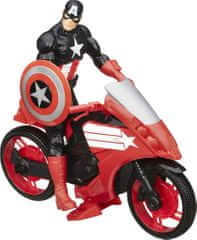 Avengers Pojazd z figurką Captain America