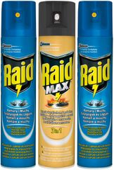 SC Johnson Raid PACK spray 2 x létající 400ml + lezoucí 400ml