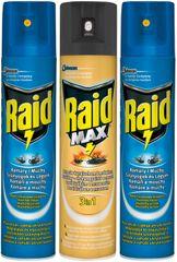 SC Johnson Raid PACK spray 2 x létající 400ml + lezoucí 400ml