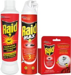 SC Johnson Raid Pack proti mravencům pastička + pěna 400 ml + prášek 250 g