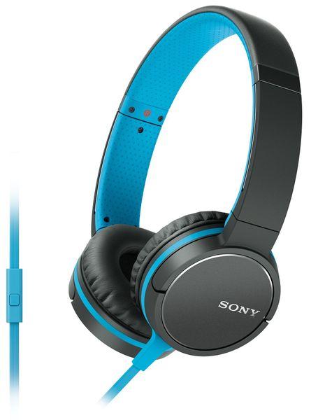 Sony MDR-ZX660APL, modrá