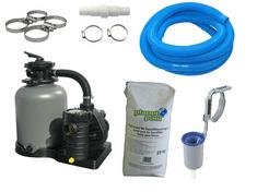 Planet Pool filter paket Aqua Technik 400, 8 m3/50kg