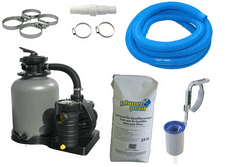 Planet Pool filter paket Aqua Technik 500, 11 m3/75kg