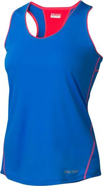 Marmot Wm's Essential Tank Ceylon Blue/Bright Pink XS