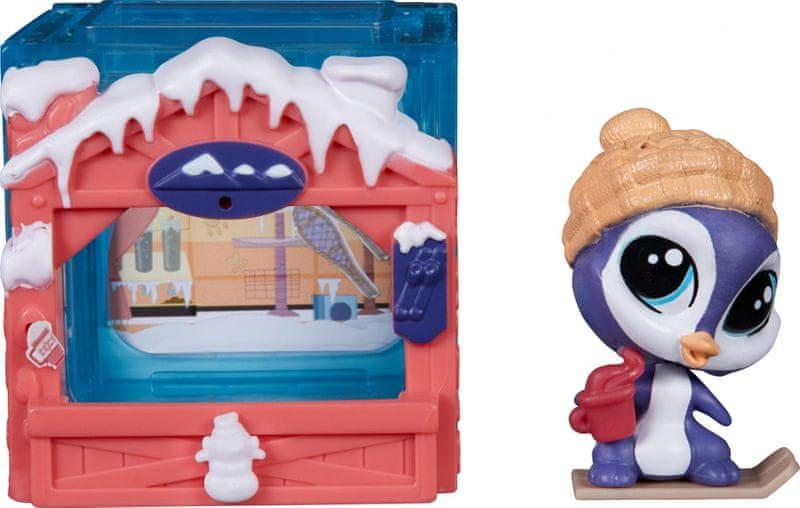 Littlest Pet Shop Zvířátko s mini domečkem Parker