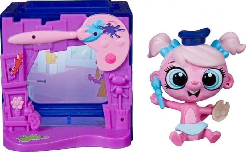 Littlest Pet Shop Zvířátko s mini domečkem Minka
