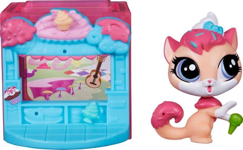 Littlest Pet Shop Zvířátko s mini domečkem Sugar
