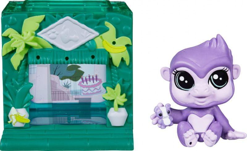 Littlest Pet Shop Zvířátko s mini domečkem Sunshine