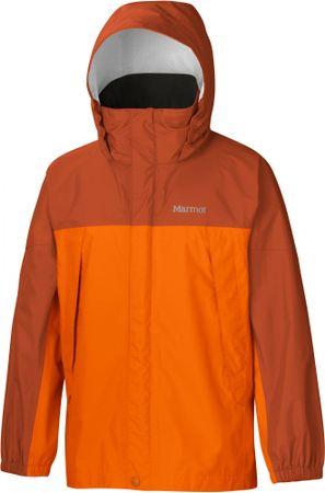 Marmot jakna PreCip, deška, oranžna, S