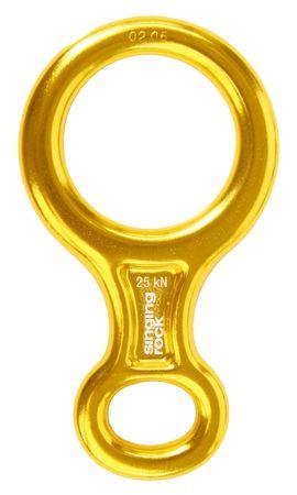 Singing Rock Osma Rappel gyűrű, Sárga, M