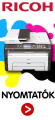 RICOH nyomtatók és multifunkciós berendezések