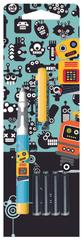 Roler Robots + 4 x bombice, Blister