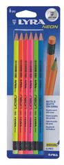 Tratto svinčnik Neon, HB, 6/1