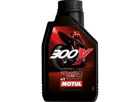 Motul motorno olje 4T 300V Factory Line 15W-50, 1L