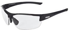 Uvex športna očala Sportstyle 612 Variomatic Lite, črna matirana - Odprta embalaža