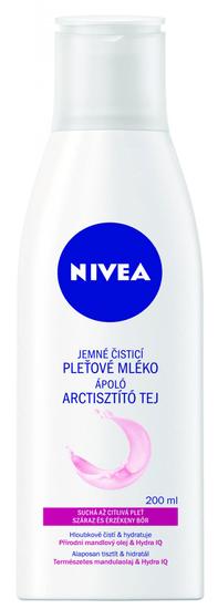 Nivea čistilno mleko Aqua Effect za suho in občutljivo kožo, 200 ml