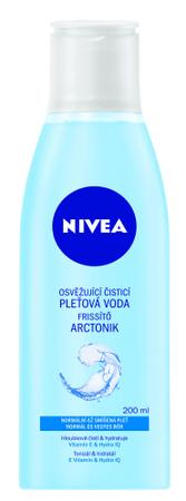 Nivea Osviežujúca čistiaca pleťová voda na normálnu až zmiešanú pleť Aqua Effect 200 ml