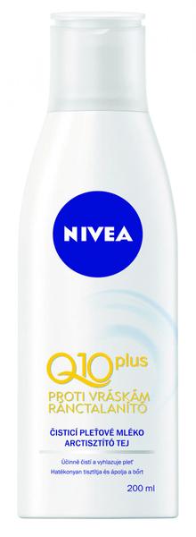Nivea Čistící mléko proti vráskám Q10 200 ml