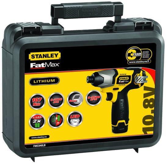 Stanley akumulatorski udarni vijačnik FMC040LB