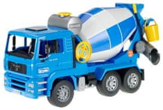 BRUDER Konštrukčné vozy - MAN TGA miešačka na cement 1:16