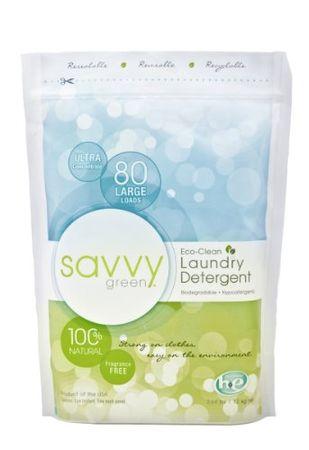 Savvy Green pralni prašek 1,23 kg, 108 pranj