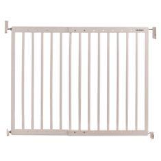 LINDAM Drewniana regulowana barierka bezpieczeństwa