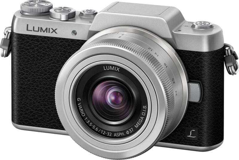 Panasonic Lumix DMC-GF7 + 12-32 mm Silver/Black (DMC-GF7KEG-S)
