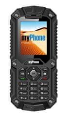 myPhone HAMMER, černý