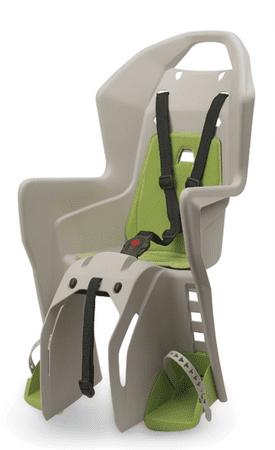Polisport otroški sedež za prtljažnik Koolah RMS, krem/zelen