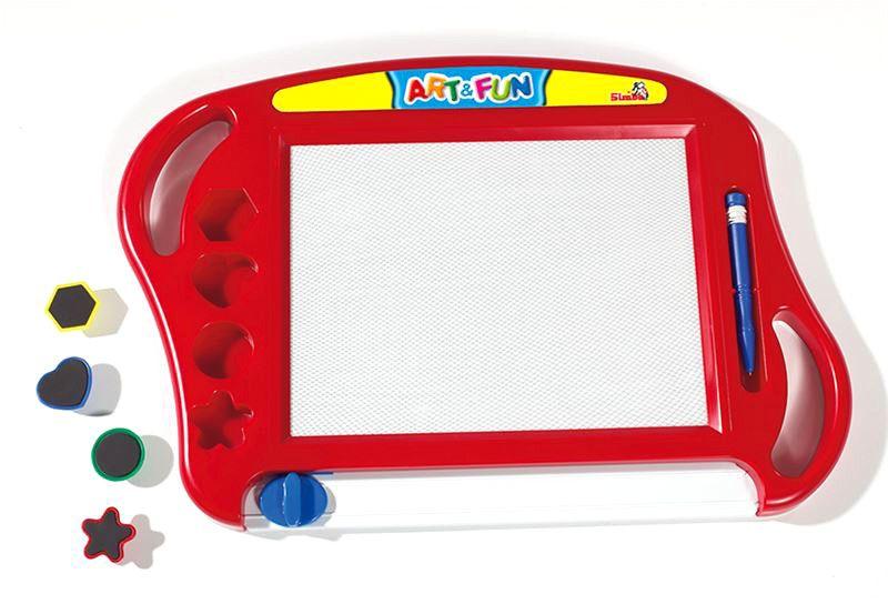 Simba Magická magnetická tabulka červená