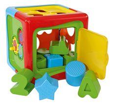 Simba otroška didaktična kocka ABC