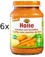 Holle Bio Mrkev a brambor - 6 x 190g