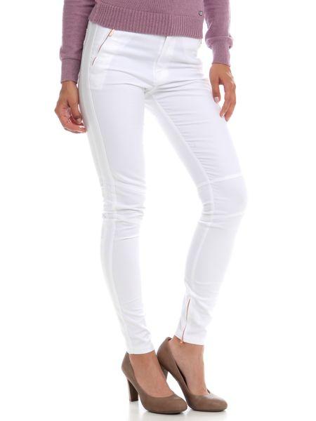Peak Performance dámské bavlněné kalhoty 29 bílá