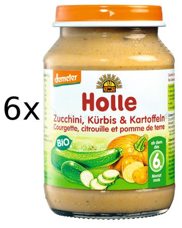 Holle Bio Cuketa a tekvica so zemiakmi - 6x190g