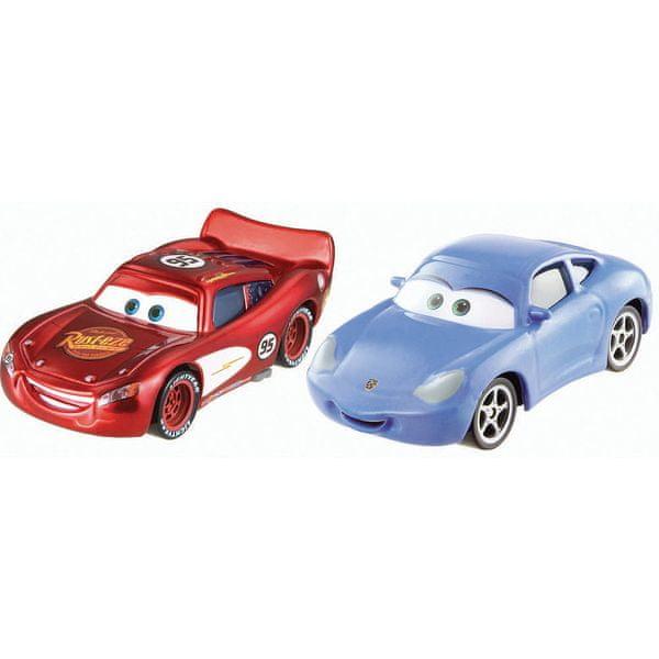 Cars Kolekce auto 2 ks Sally a Blesk McQueen