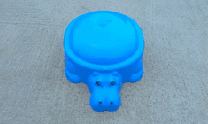 Starplay Víziló homokozó tetővel, Kék